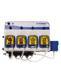 Podab Pumpsystem 4, 4 pumpar, v 2, spolbatteri