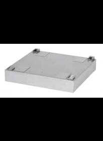 Electrolux Sockel WH6-6, 100 mm, silver